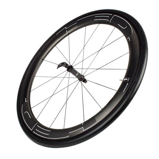 HED Jet 6 Black Front Clincher Wheel