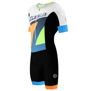 Zone3 Limited Edition Lava Short Sleeve Aerosuit