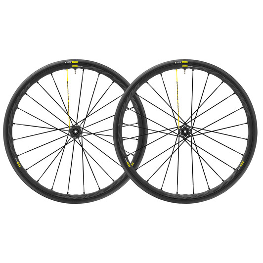 Mavic Ksyrium Pro UST 6 Bolt Disc Clincher Wheelset 2018
