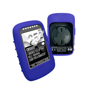 Tuff-Luv Silicone Case Cover For Wahoo ELEMNT Bolt + Screen Protector