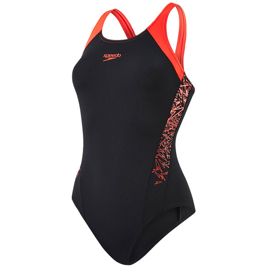 Speedo Boom Splice Womens Muscleback Swimsuit