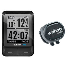Wahoo ELEMNT MINI Bike Computer + RPM Speed