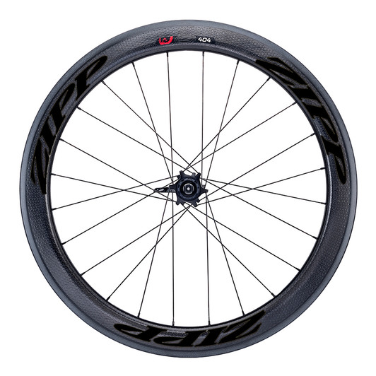 Zipp 404 Firecrest Carbon Clincher Disc Brake Thru-Axle Front Wheel