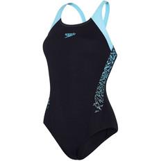 Speedo Boom Splice Womens Raceback Swimsuit