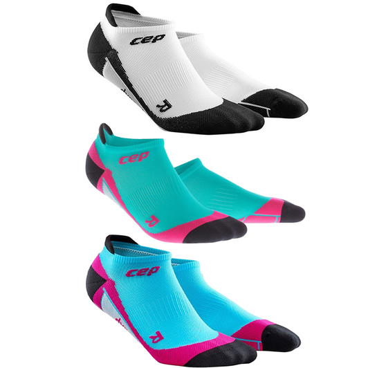 96ec7ab8f8 CEP Compression No Show Womens Socks | Sigma Sports