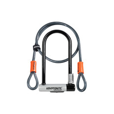 Kryptonite KryptoLok Standard U-lock + 4 foot Kryptoflex Cable