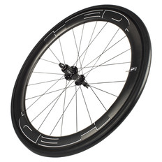 HED Jet 6 Black Carbon Clincher Rear Wheel