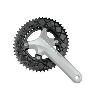 AbsoluteBLACK Premium Race Oval Shimano 4 Bolt Outer Chainring