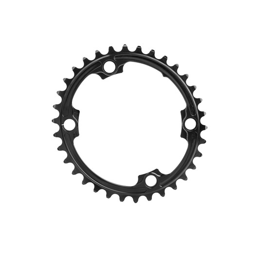 Absolute Black Premium Race Oval Shimano 4 Bolt Inner Chainring