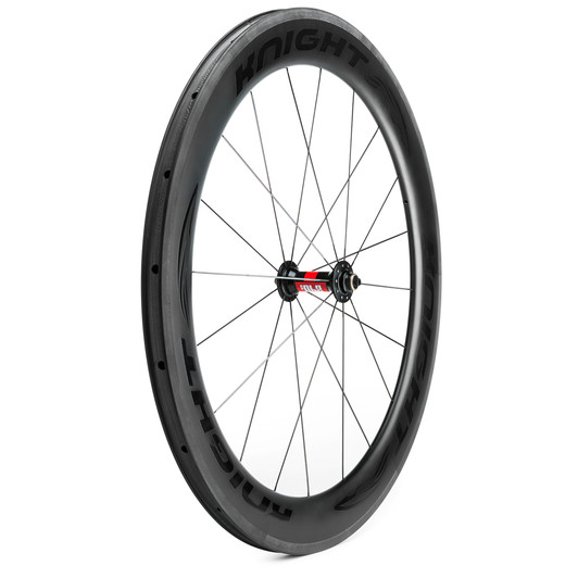 Knight Composites 65 Carbon Clincher DT240 Front Wheel