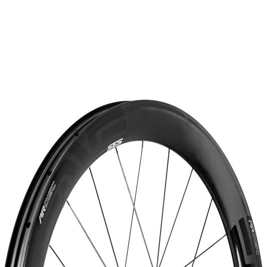 ENVE SES 4.5 AR Thru Axle Disc Clincher Wheelset With Chris King R45 Hubs