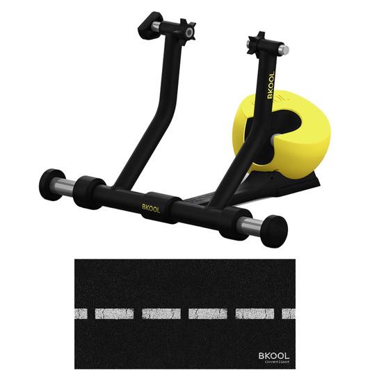 BKOOL Smart Pro 2 Turbo Trainer With Floor Mat
