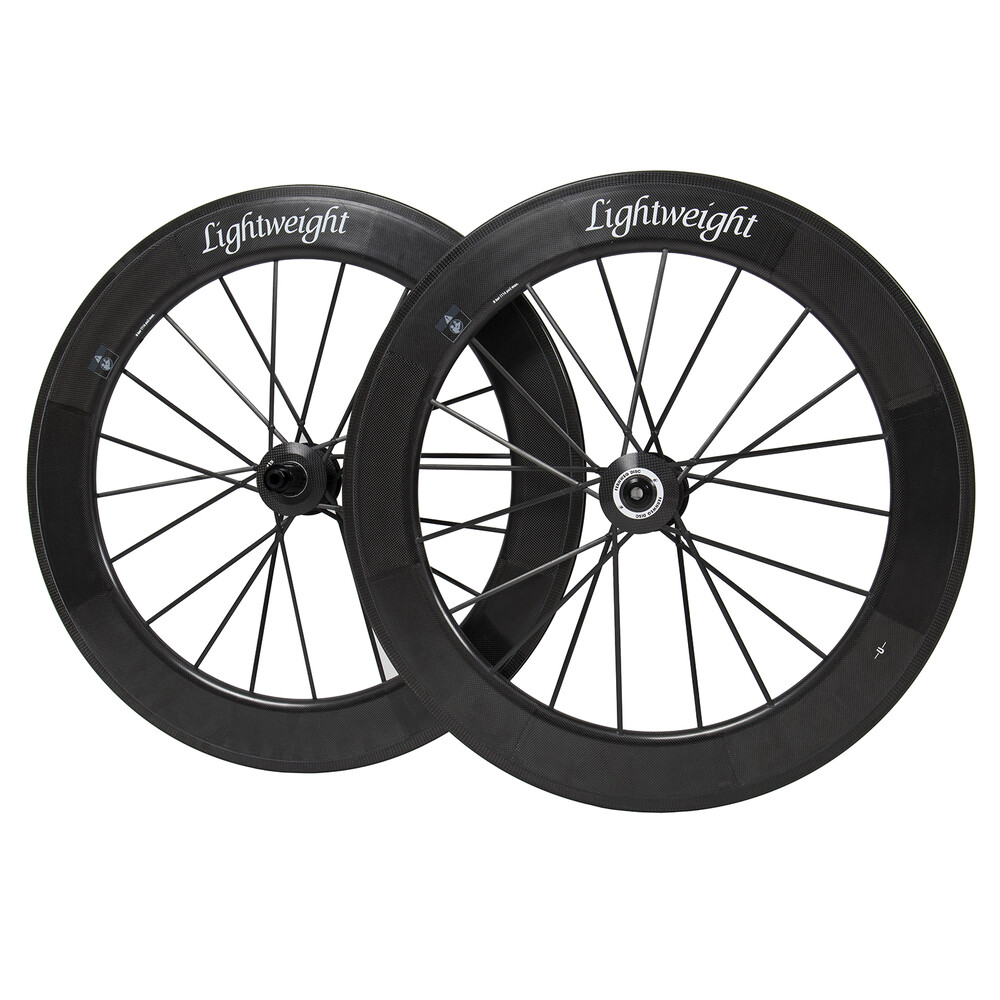 Lightweight Fernweg 85/85 Disc Brake Carbon Clincher Wheelset