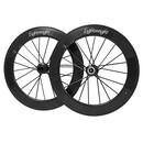 Lightweight Fernweg 80/80 Disc Brake Carbon Clincher Wheelset