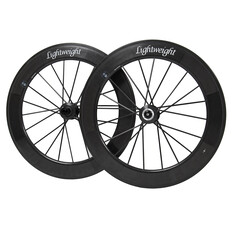 Lightweight Fernweg 80/80 Disc Brake Carbon Clincher Wheelset