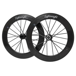 Lightweight Fernweg 85/85 Disc Brake Carbon Clincher Wheelset