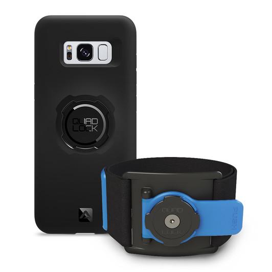 Quad Lock Run Kit Samsung Galaxy S8