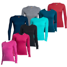 Icebreaker Oasis Long Sleeve Crewe Neck Womens Baselayer