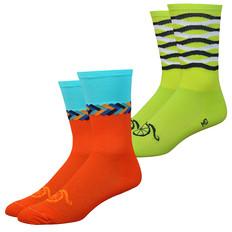 DeFeet Aireator Handlebar Mustache 6 Socks