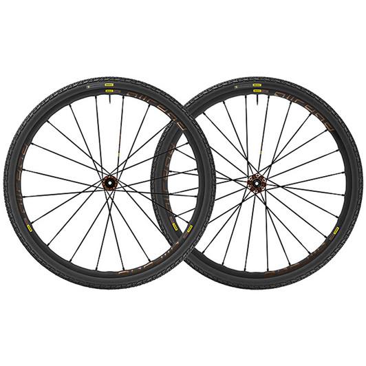 Mavic All Road Pro Disc 6 Bolt 40mm Tyre Clincher Wheelset 2018