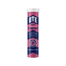 OTE Sports Nutrition Caffeine Hydro Tablets Box 20 x 4g x 6 Tubes