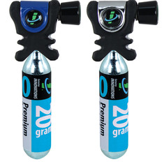 Genuine Innovations Air Chuck Plus CO2 Inflator + Cartridge