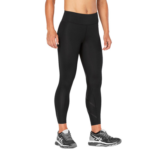 2XU Mid-Rise Print Womens Compression 7/8 Tight