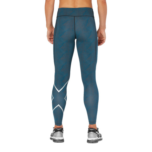 2XU Mid-Rise Print Womens Compression Tight