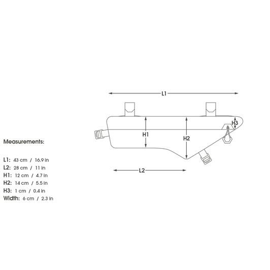 Apidura Dry Series Frame Pack 3.5L