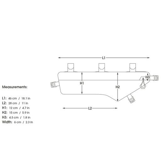 Apidura Dry Series Frame Pack 4.5L