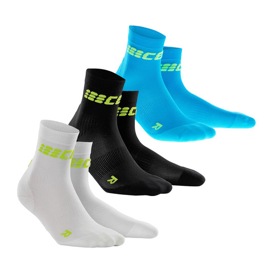 CEP Run Ultralight Compression Short Socks