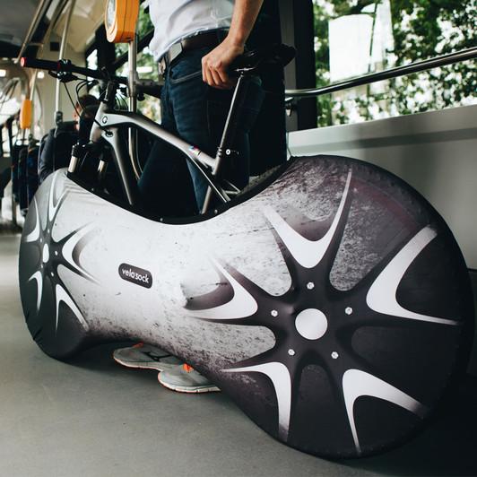Velosock Silverbird Indoor Bike Cover