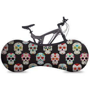 Velosock Skulls Indoor Bike Cover