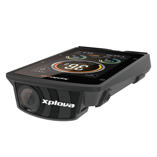 xplova x5 evo bianchi  Xplova X5 Evo GPS Computer With Action Camera   Sigma Sports