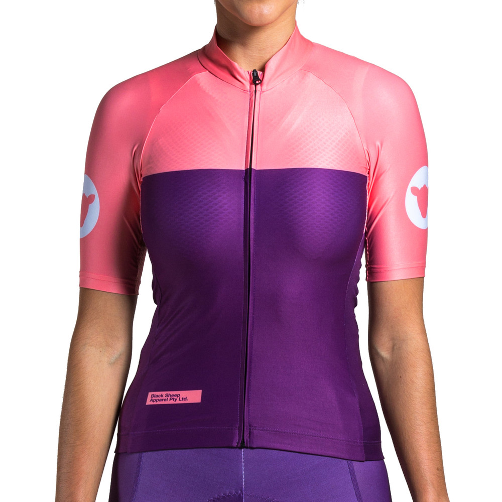 Black Sheep Cycling Swiss Legacy Nicolette Alt Womens Short Sleeve Jersey
