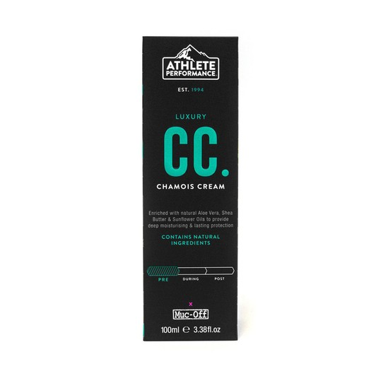 Muc-Off Athlete Performance Chamois Cream 100ml