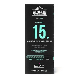 Muc-Off Athlete Performance SPF15 Moisturiser