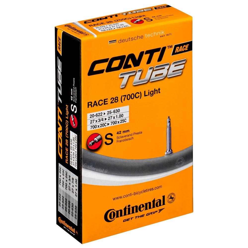 Continental R28 Light 700 X 20 - 25C Presta 80mm Valve Inner Tube