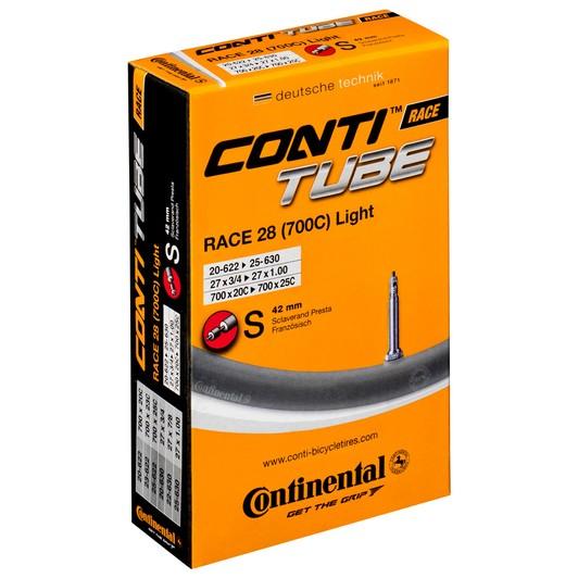Continental R28 Light 700 X 20 - 25C Presta 60mm Valve Inner Tube
