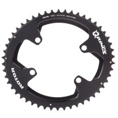 Rotor ALDHU and Shimano 9100/8000 Q Outer Chainring 110BCD