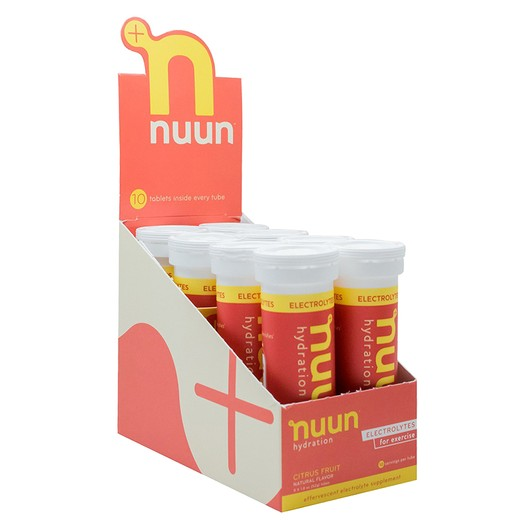 Nuun Active Electrolyte Hydration Tablets Box Of 8