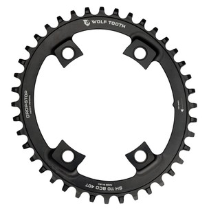 Wolf Tooth Components 110 BCD Elliptical Asymmetric 4 Bolt Chainring - Shimano