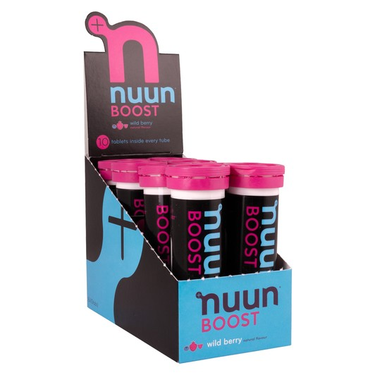 Nuun Boost Caffeinated Hydration Tablets Box