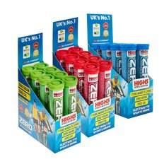 High5 Zero Salts 20 Electrolyte Tablets Box of 8 Tubes