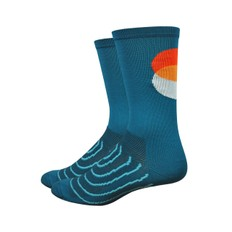 DeFeet Aireator Strawfoot Sunset 6 Socks
