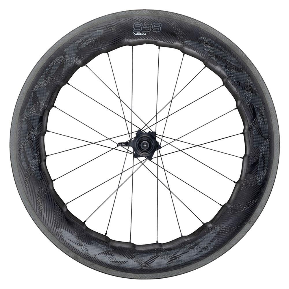 Zipp 858 NSW Carbon Clincher Rim Brake Rear Wheel