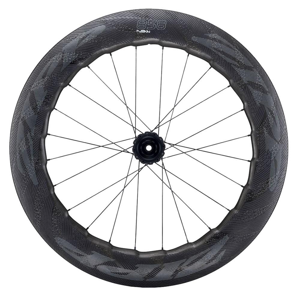 Zipp 858 NSW Carbon Clincher Disc Brake Center Locking Rear Wheel 2019