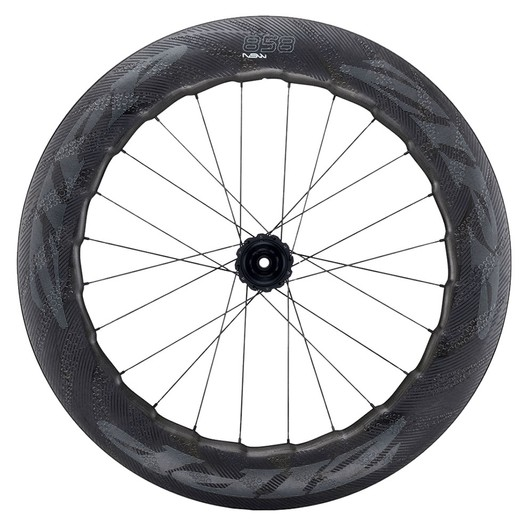 Zipp 858 NSW Carbon Clincher Disc Brake Center Locking Rear Wheel