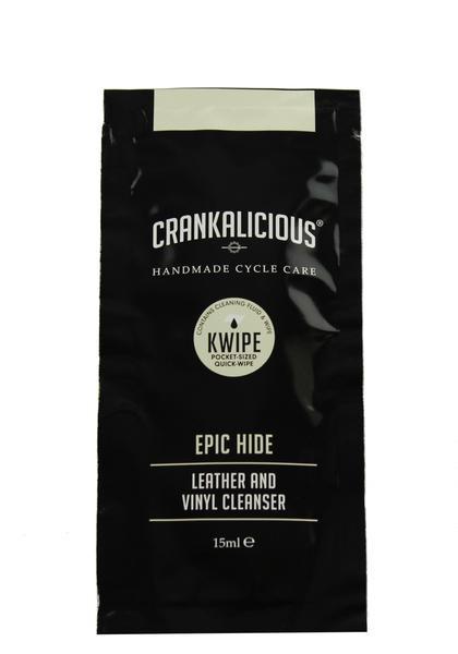 Crankalicious Epic Hide KWIPE 15ml Cleaning Wipe