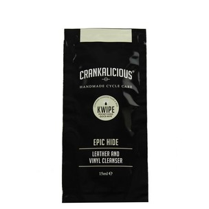 Crankalicious Epic Hide KWIPE 15ml Cleaning Wipe